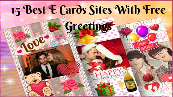 15 Best Ecards Websites to send free greetings
