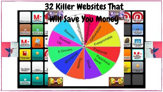 32 websites that will save money