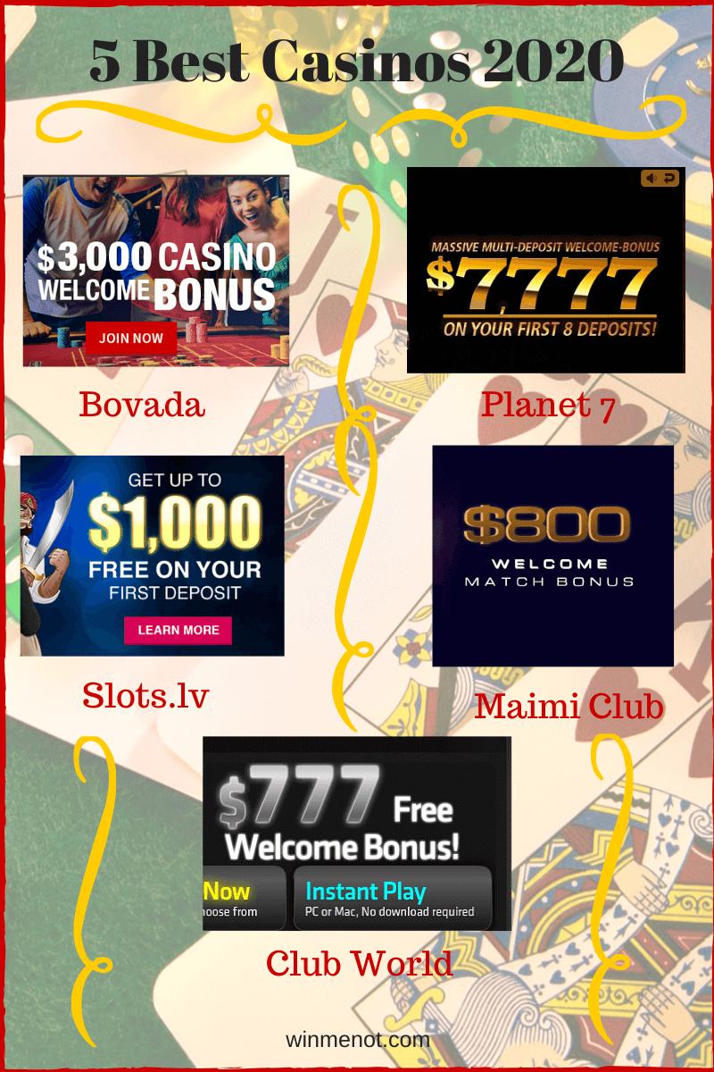 5 Popular Casinos