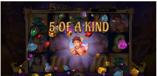 5 Wishes slot- 5 of a kind