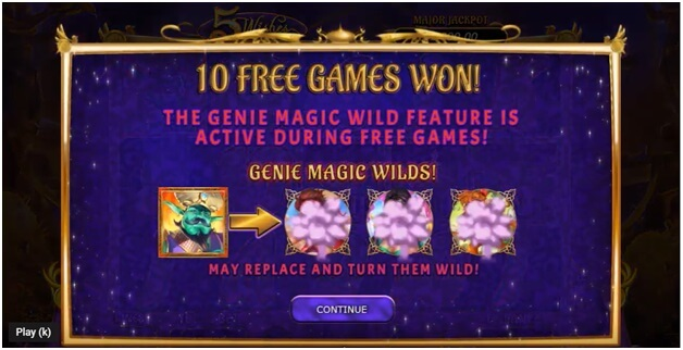5 Wishes Slot- Free Games