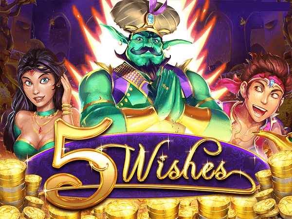 5 Wishes new slot bonus codes