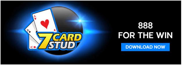 888 poker - 7 card stud