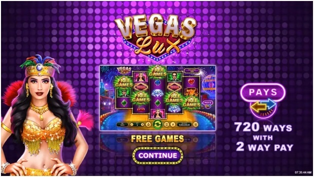 About Vegas Lux game features- Rules
