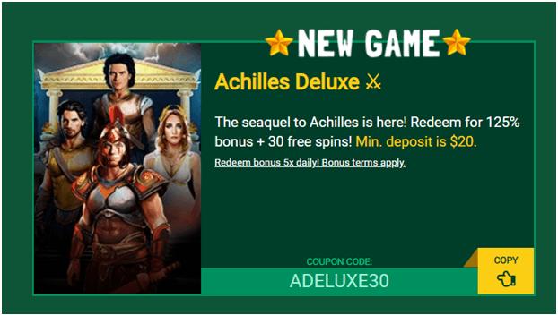 Achilles-Deluxe-slot-Coupon-codes-Fair-Go-casino