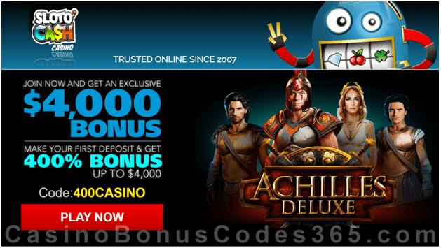 Achilles-Deluxe-slot-Coupon-codes-slotocash-casino