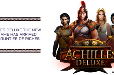Achilles Deluxe the new slot game has arrived with bounties of riches to win