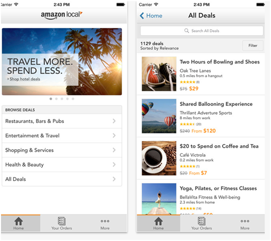 Amazon Local App