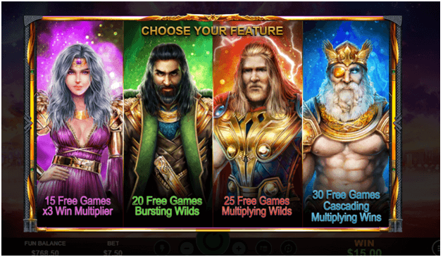 Asgard Deluxe - Game Features - Free Games