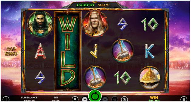 Asgard Deluxe - Game Features