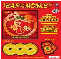 BCLC Game- Monkey Scratch Card