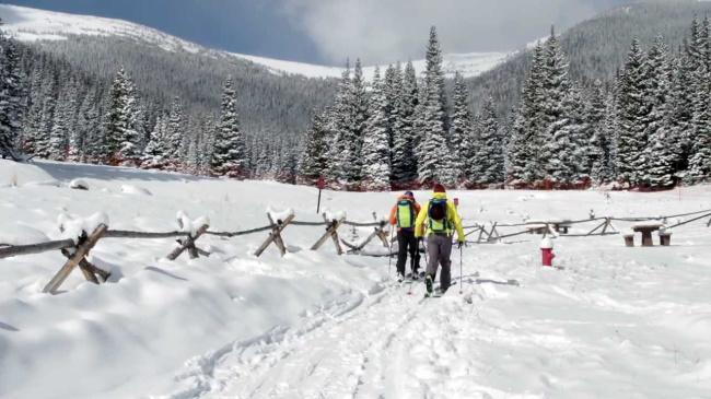 Backcountry Ski in Estes Park