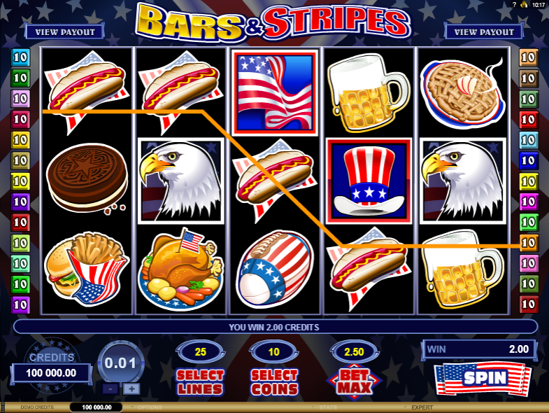 Bars & Stripes - SLOT GAME
