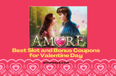 Best slot and bonus coupons for Valentine Day