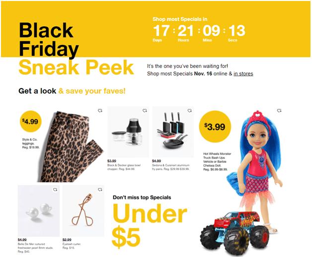 Black Friday deals at Macy's
