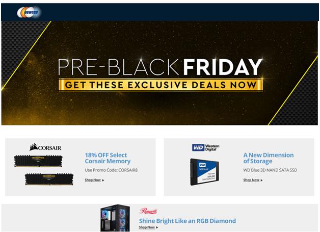Black Friday deals at Newegg