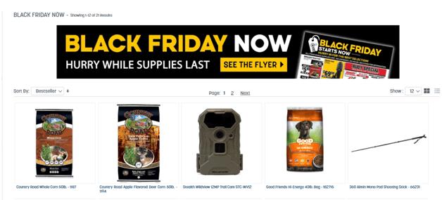 Black Friday deals at Rural King
