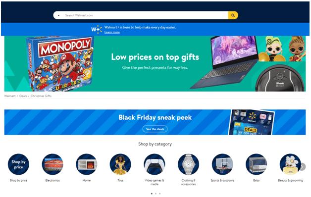 Black Friday deals at Walmart