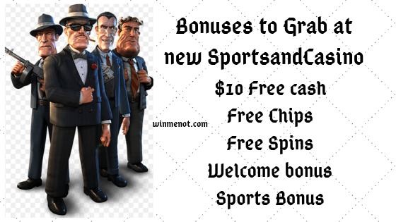 Bonuses to Grab at new SportsandCasino
