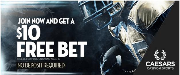 Caesars-sports-free-bet