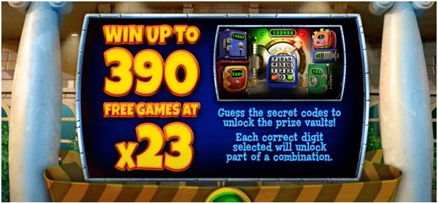 Cash bandit 3- Bonus rounds