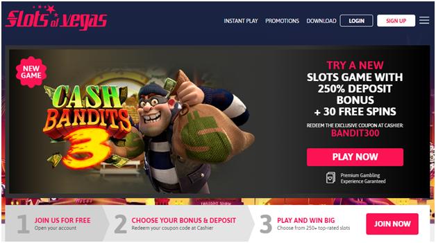 Cash bandit 3-Slots of Vegas