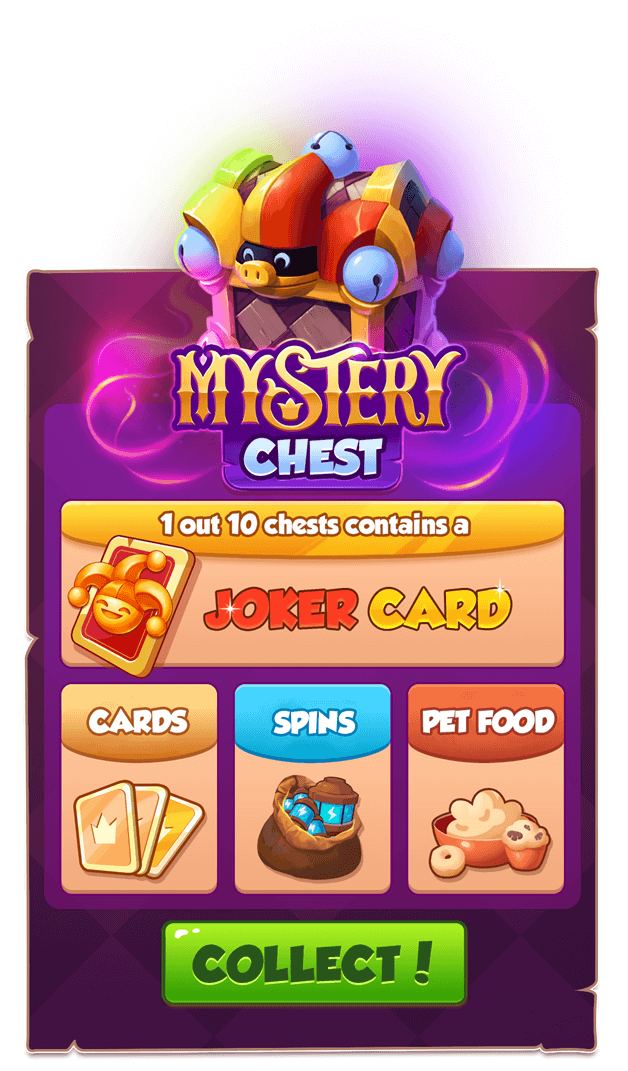 Coin Master - Mystery Chest
