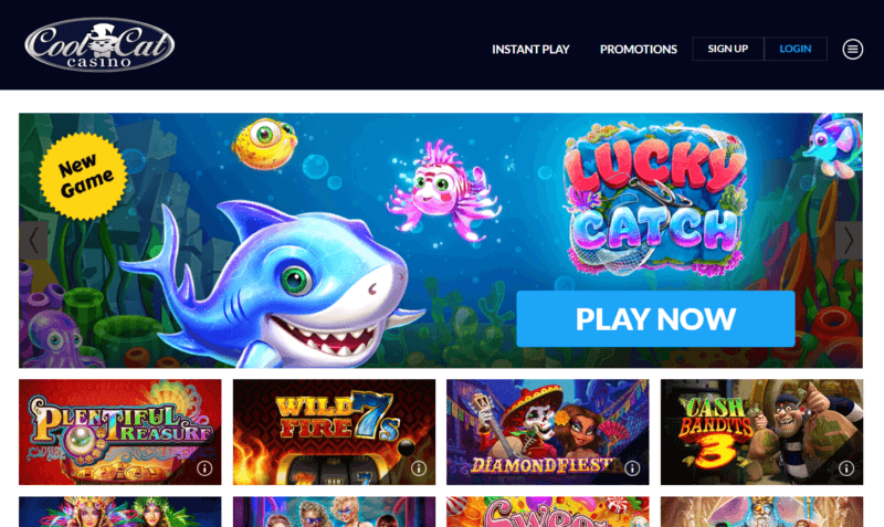 Cool Cat Casino Coupon codes to redeem