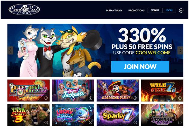 Cool Cat Litecoin Casino