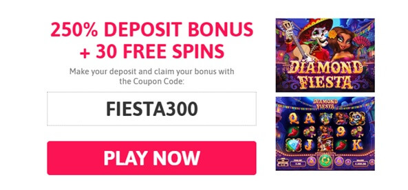 Coupon code Diamond Fiesta slot- SLots of Vegas