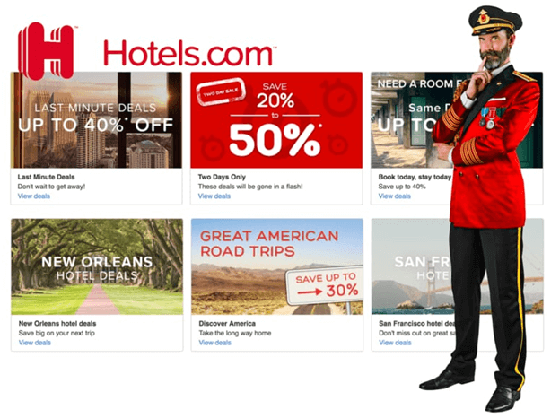 Coupon codes for hotel bookings