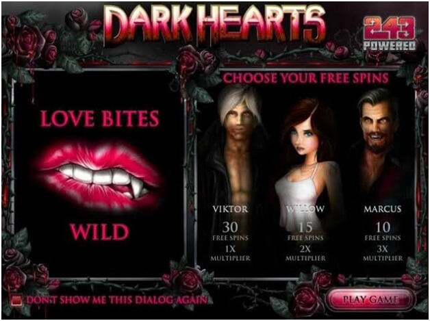 Dark Hearts slot