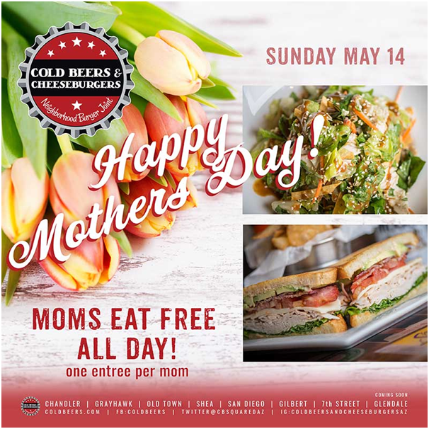 Dining deals for mom
