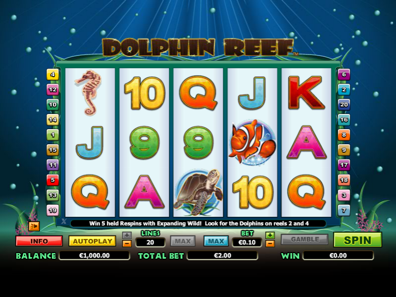 Dolphin Reef - SLOT GAME