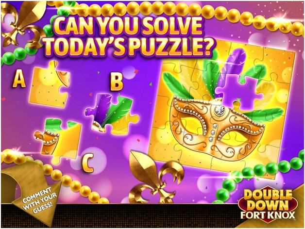 Double down fort knox free credits with FB