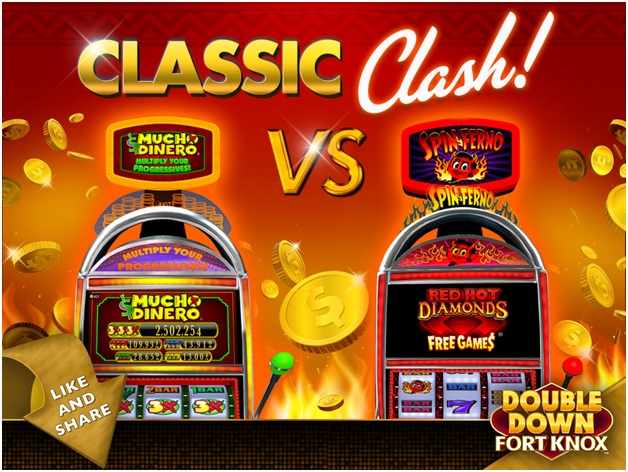 Double Down Fort Knox slot machines