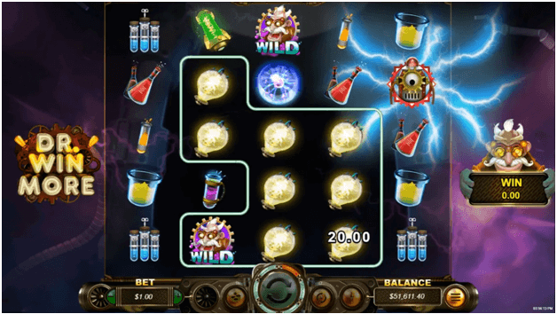 Dr Winmore - the new slot game