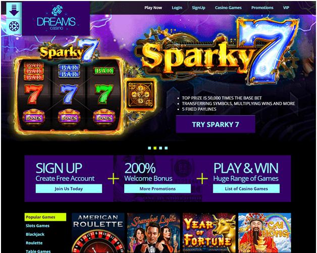 Dreams casino codes