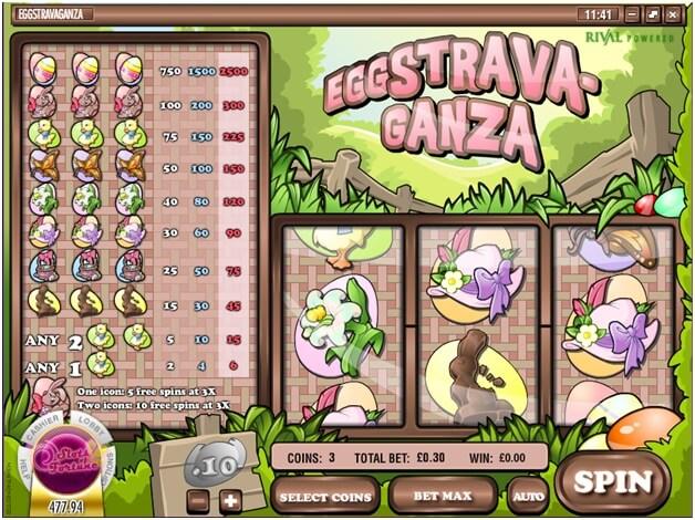 Eggstravaganza slots