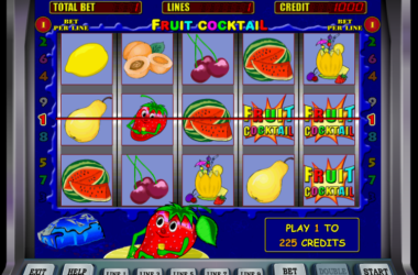 Enjoy Fruit Cocktail Slot Game Online