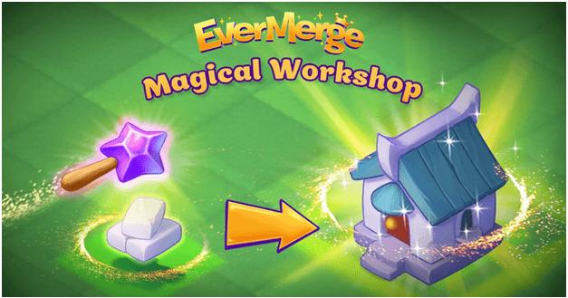 Magic Wands in EverMerge