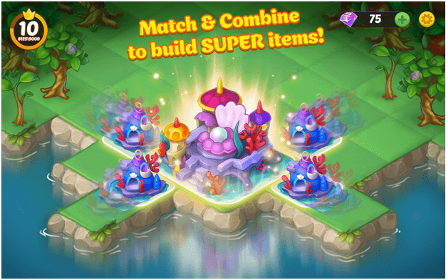 Go for Multipliers in EverMerge to get more coins