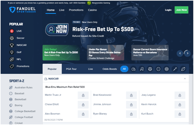 Fanduel risk free bet