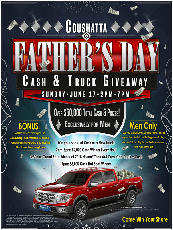 Father's Day at Coushatta