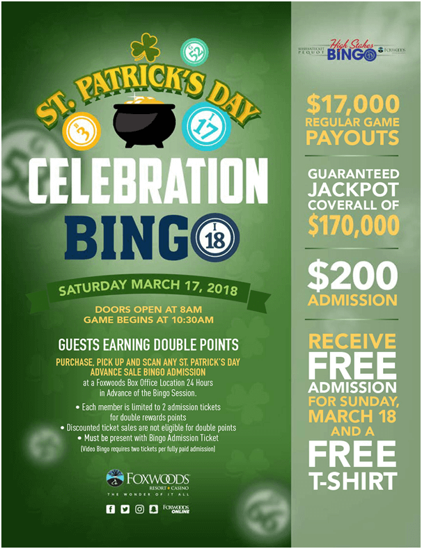 Foxwood Casino- Bingo Celebrations