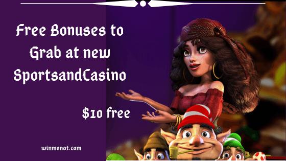 Free Bonuses to Grab at new SportsandCasino