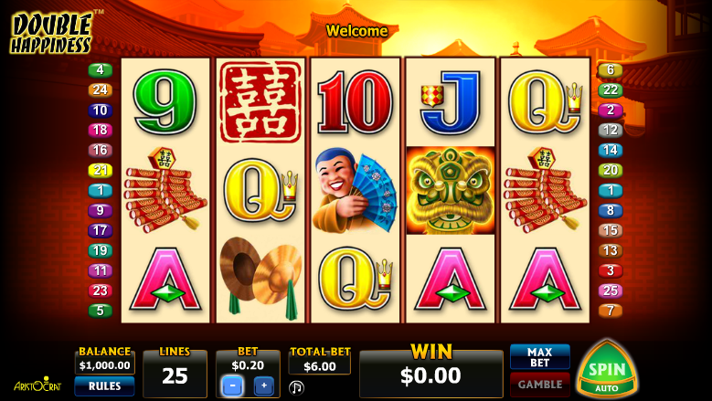 Double Happiness Slot Machine Online ᐈ Aristocrat™ Casino Slots