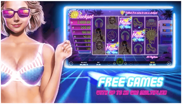 Free Games in Miami Jackpot slots