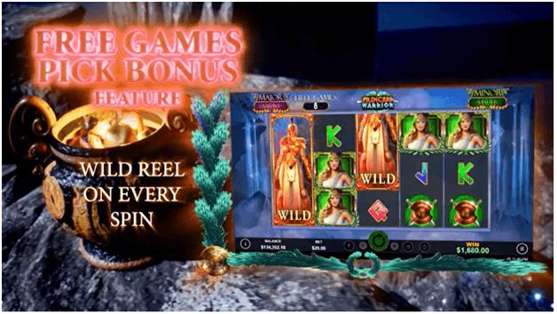 Free games on Princess Warrior