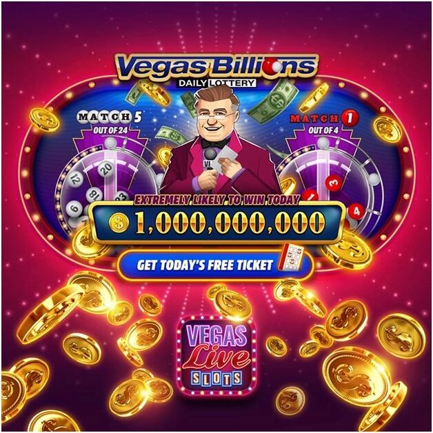 Free coins at Vegas slots game app